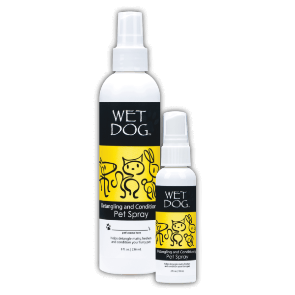 Wet Dog Detangling Pet Spray