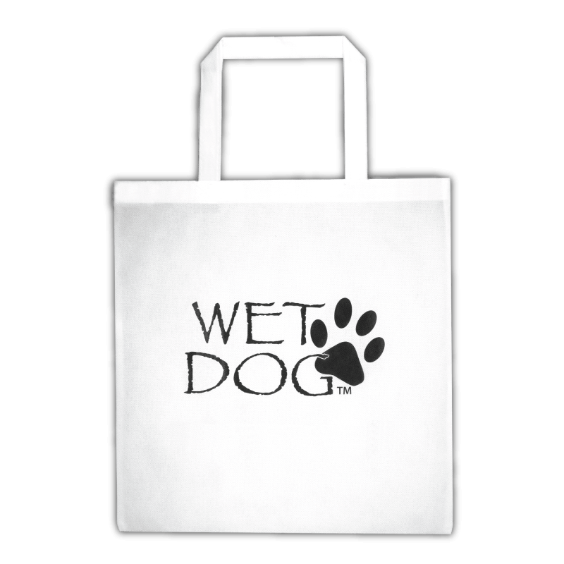 Wet Dog Tote Bag